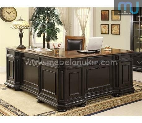 Meeting Desk Teak Wood