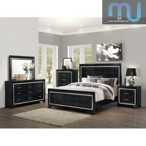 Kamar Set Minimalis Black